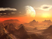 Valley of the Alien Kings — Stock Photo