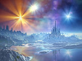 Approach to the Ice Kingdom — Stock Photo