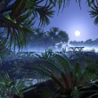 Stockfoto: Alien Jungle World