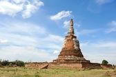 Pagoda in Ayutthaya — 图库照片