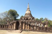 Wat Chang Lom in Sukhothai Historical Park — Stock Photo