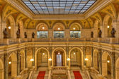 Prague museum Interior — Stock Photo