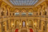 Prague museum Interior — Stock Photo