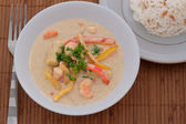 Thai Prawn Curry — Stock Photo