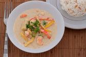 Thai Prawn Curry — Stock Photo