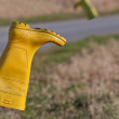 Yellow Boot — Stock Photo