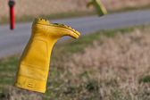 Yellow Boot — Stock Photo