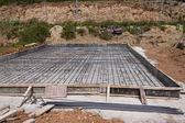 Foundation Construction — Stock Photo