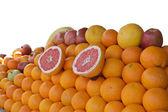 Fruit Stall Isolated — Stock Photo
