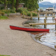 Red Canoe — Stock Photo #30582939