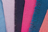 Fabric Color Samples — Stock Photo