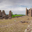 Brough Castle Panorama — Stock Photo