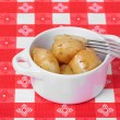 Stock Photo: Roast Baby Potatoes