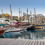 Yacht haven — Stockfoto