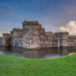 Stock Photo: Beaumaris Castle