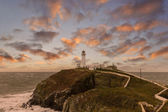Lighthouse Dusk — Stock Photo