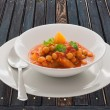 Stock Photo: ChickpeCurry