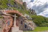Bamburgh kalesi — Stok fotoğraf