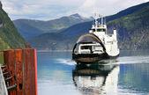 Ferry ship — Stock Photo