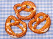 Traditional german pretzels — Stock Photo