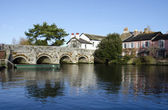 The River Avon at Christchurch in Dorset — Stock Photo