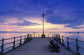 Sunrise at the Pier — Stock Photo