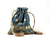 Decorative drawstring pouch — Foto de Stock