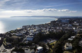 Aerial Vew of Bournemouth Town Center — Stock Photo