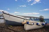 Fishing Boats at Selsey Bill — Stock Photo