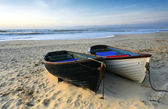 Fishing Boats on the Beach — Stock Photo