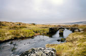 Winters Evening on Dartmoor — Stock Photo