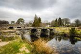 Clapper Bridge in Darmoor, Devon — Stock Photo