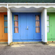 Durley Chine Beach Huts — Stock Photo