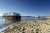 House Boats in Poole Harbour — Stock Photo