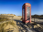 Old Red Telephone Box — Stock Photo