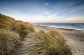 Sand Dunes at Hengistbury Head — Stock Photo