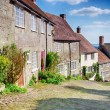 Gold Hill in Shaftesbury — Stock Photo