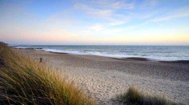 Beach Sunset — Stock Video