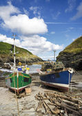 Fishing Boats in Cornwall — Stock Photo
