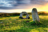 Men-An-Tol in Cornwall — Stock Photo