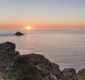 Sunset over the Rumps — Stock Photo