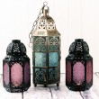 Metal Lanterns — Stockfoto