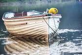 Moored Boat — Stock Photo