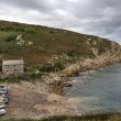 Stock Photo: Penberth Cove in Cornwall