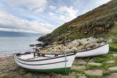 Fishing Boats at Penberth Cove — Stock Photo