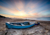Fishing Boat at Sunrise — Stock Photo