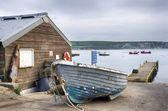 Boats at Swanage — Stock Photo