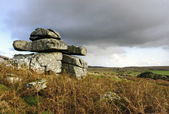 Carbilly Tor on Bodmin Moor — Stock Photo