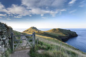 The Rumps on Pentire Head in Cornwall — Stock Photo
