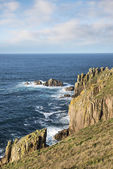 Lands End in Cornwall — Stockfoto